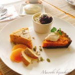 マクロビお菓子教室〜10月さつま芋と南瓜おやつにて開催しました