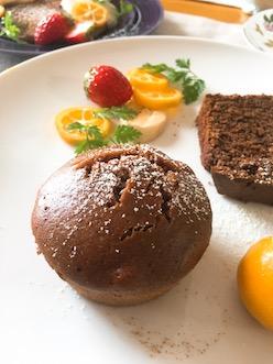 マクロビチョコ蒸しパン2019.1