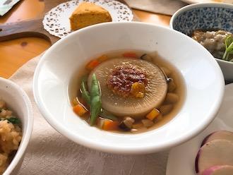 2019.1ふろふき大根風スープ