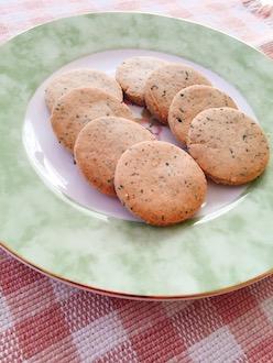 マクロビ米粉の紅茶クッキー2019.3