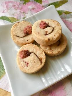 マクロビ桜クッキー