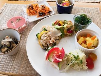 マクロビの生野菜料理色々