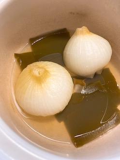 玉ねぎの丸蒸しレシピ2