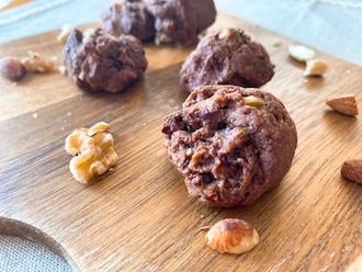 マクロビ米粉のチョコバナナクッキー